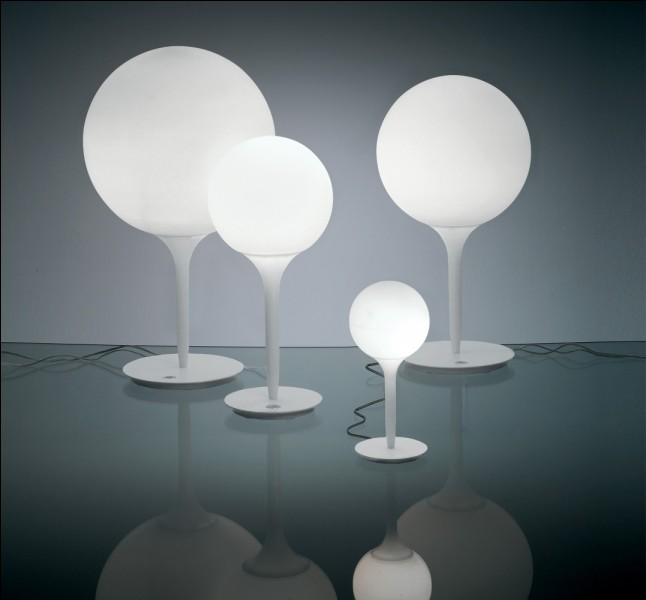 Combien y a-t-il de lampes sur cette image ?