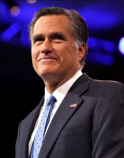 """Dans l'état de l'Utah, l'ancien candidat à l'élection présidentielle Mitt Romney se présente à l'élection sénatoriale. Bien que largement en avance dans les sondages, il n'est pas très apprécié par les militants républicains les plus conservateurs qui le qualifie de """"RINO"""". Que signifie ce terme ?"""