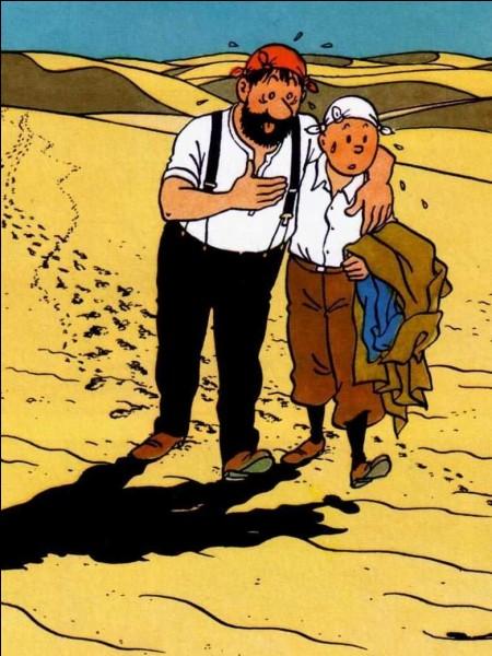 Lorsqu'il fait la connaissance de Tintin c'est un alcoolique, combien de fois met-il la vie de Tintin en danger ?