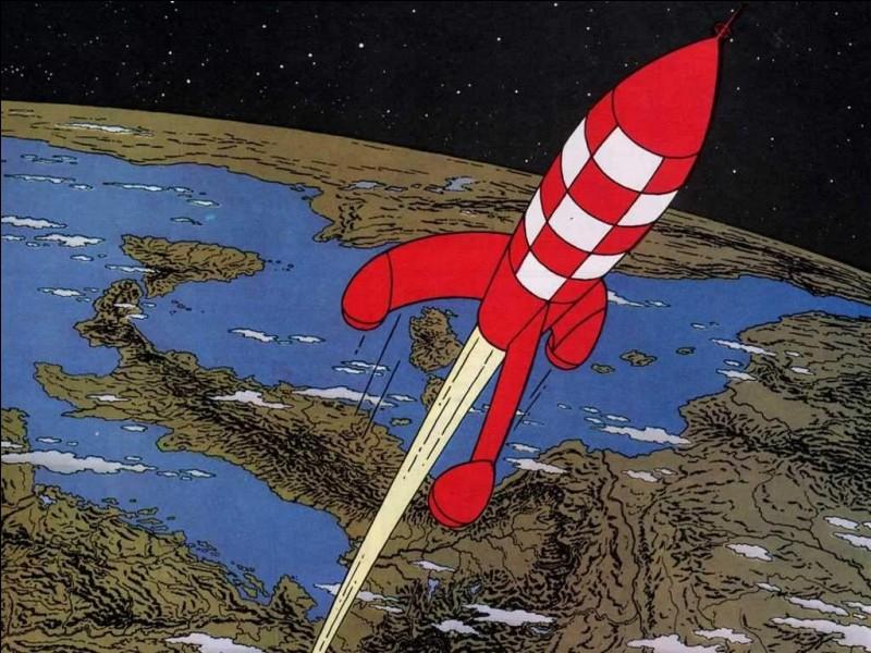 Dans la fusée qui l'emmène sur la Lune il a emporté un faux livre, dans lequel il a caché quelque chose. Quoi ?