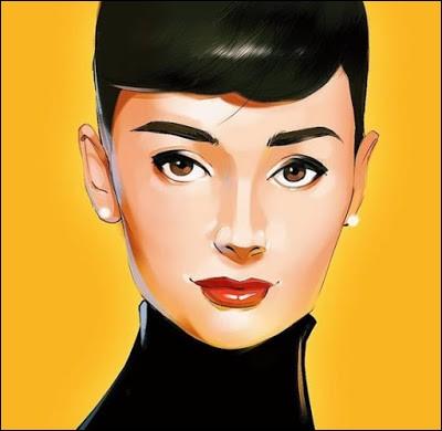 Matteo Lane a dessiné ici une figure légendaire du cinéma hollywoodien. Qui est cette brunette ?