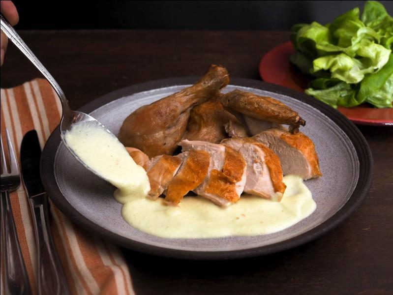 Quelle est cette sauce, composée d'oignons et de béchamel ?