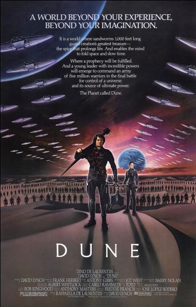 """C'est David Cronenberg qui a mis en scène """"Dune""""."""