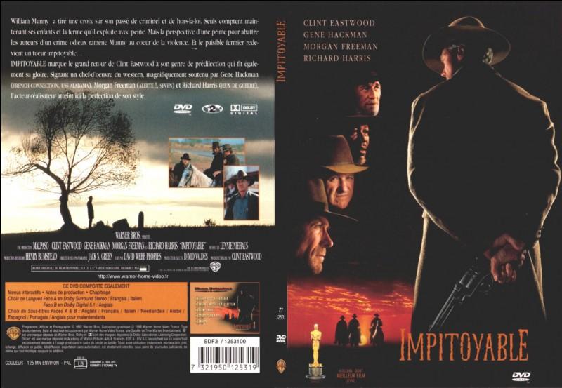 """""""Impitoyable"""" est un film de et avec Clint Eastwood."""