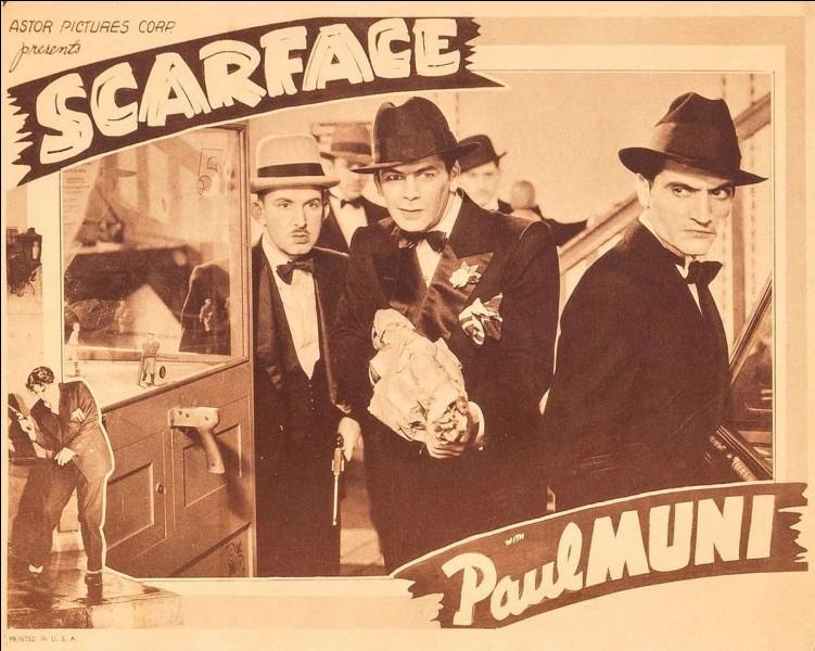 """""""Scarface"""" est un film réalisé par Howard Hawks."""