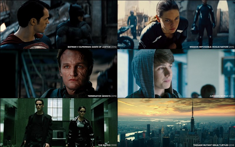 """""""Matrix"""" est un film dans lequel joue Tom Cruise."""