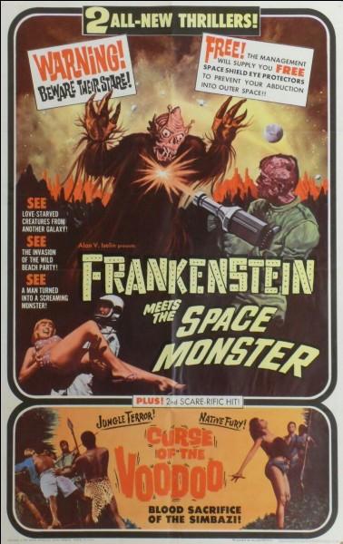 """Frankenstein"" est un film dans lequel joue Boris Karloff."
