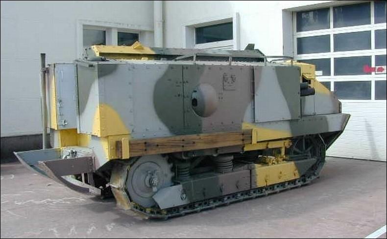 Quel est le premier char d'assaut français, utilisé au cours de la Première Guerre mondiale ?