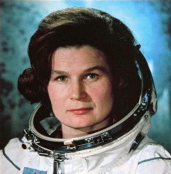 La première femme dans l'espace. Quelle est sa nationalité ?