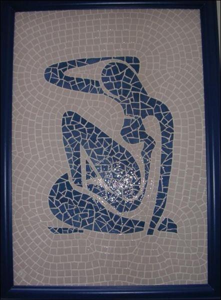 De quelle œuvre célèbre cette mosaïque est-elle la reproduction ?