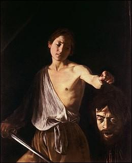 Quel est le titre de ce tableau de l'artiste baroque italien Caravage peint au début du XVIIe siècle ?