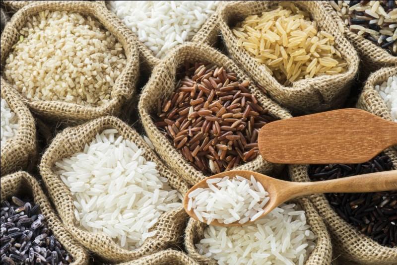 D'après une appellation IGP, d'où vient le riz ?