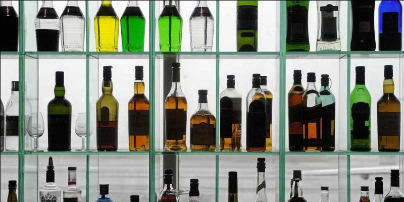 Quelle marque d'alcool est originaire de cette région ?