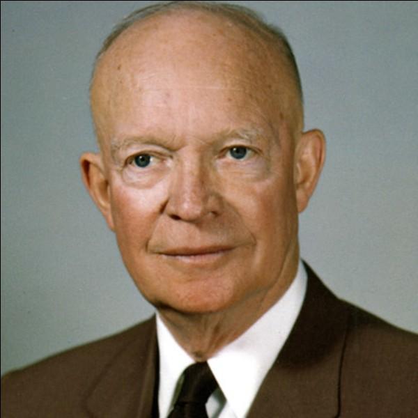Que voulait Eisenhower en 1945 ?