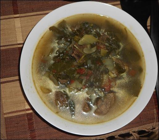 Le romazava en est un plat traditionnel.