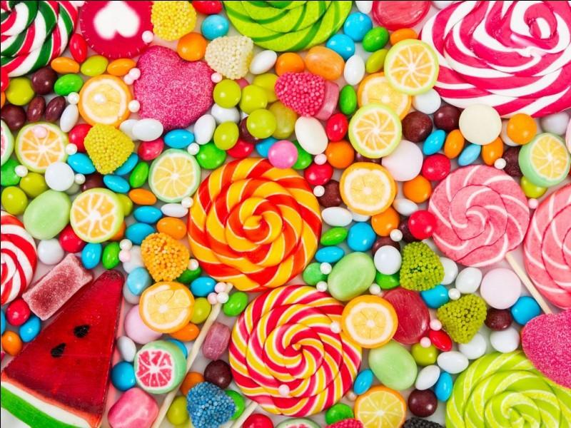 Manges-tu beaucoup de sucreries ?