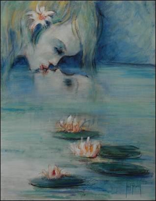 Qui, dans la mythologie, avait pour miroir, l'eau d'une source ?