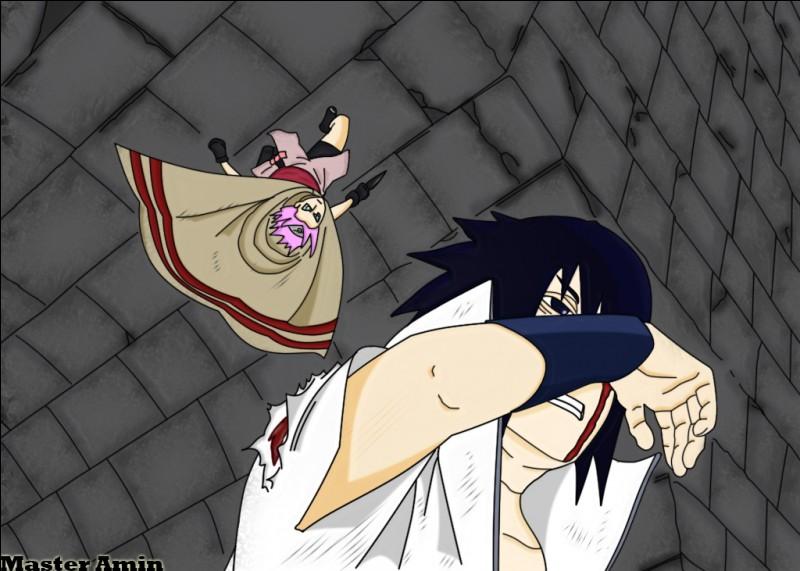 Sakura a essayé de tuer Sasuke parce que...