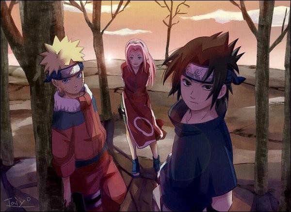 À l'académie, Sakura finit dans l'équipe...