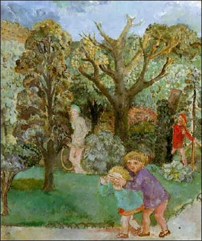 """Qui a peint """"Enfants au Luxembourg"""" ?"""