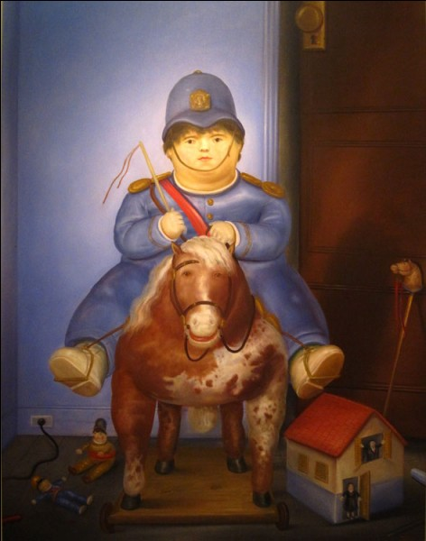 "Qui a peint ce ""garçon à cheval"" ?"