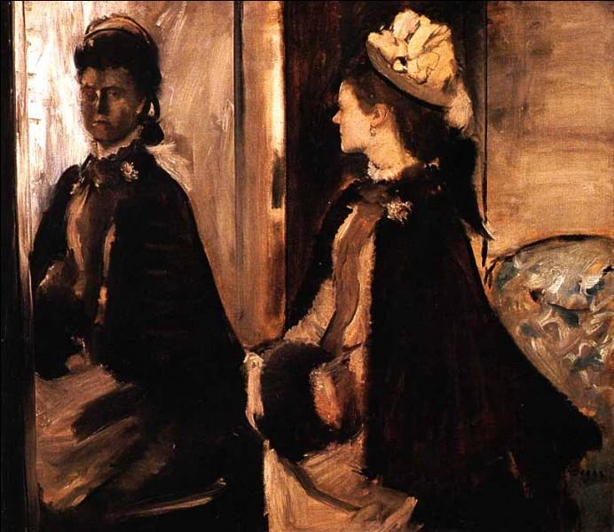 """Qui a représenté """"Madame Jeanteaud devant un miroir"""" ?"""