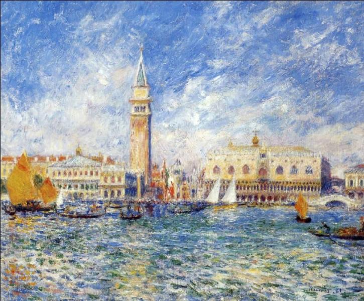 """Qui est le peintre de """"Venise, le palais des Doges"""" ?"""