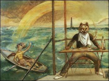 """À qui appartient 'Le Chat de la Méditerranée"""" ?"""