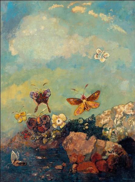 """Qui a peint """"Papillons"""" ?"""