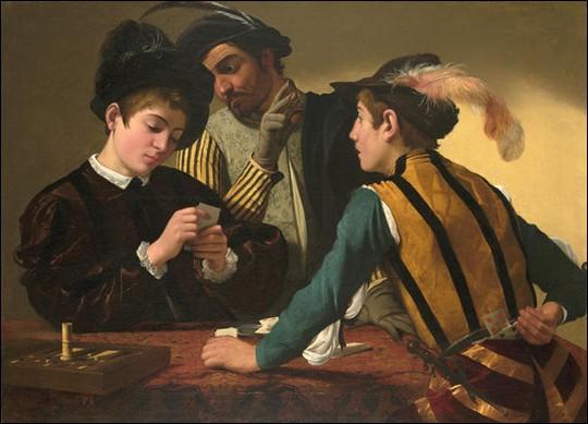 """Qui a peint """"Les tricheurs"""" ?"""