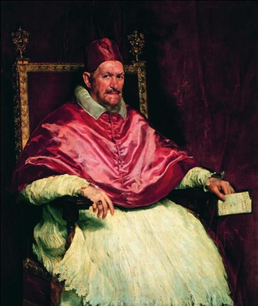 """De qui est ce portrait du """"Pape Innocent X à Rome"""" ?"""