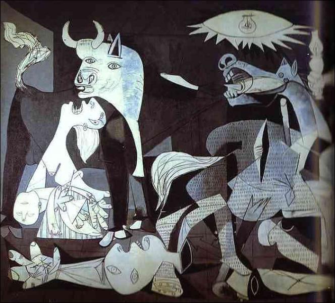 """Pourquoi Picasso a-t-il choisi le nom de """"Guernica"""" pour un de ses tableaux ?"""