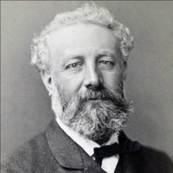 """Cet écrivain (1828-1905) a connu son premier très grand succès avec """"Cinq semaines en ballon"""" en 1863. De qui s'agit-il ?"""