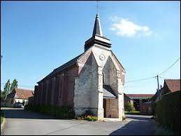 Voici l'église Saint-Vincent du Plessier-sur-Bulles. Village des Hauts-de-France, ils se situe dans le département ...