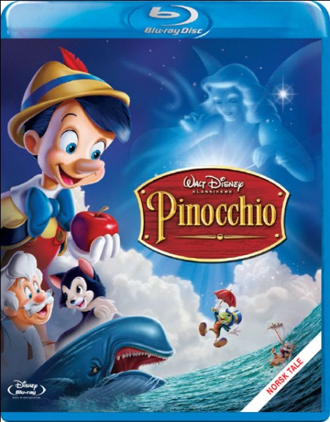 """Quel est le numéro du DVD de Pinocchio dans les """"Classiques Disney"""" ?"""