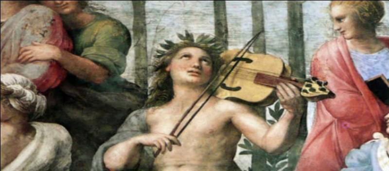Qui est l'artiste à l'origine de cet immense tableau peint entre 1509 et 1511, dont je vous présente seulement des détails ?