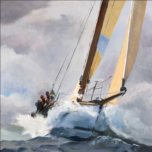 Une fois en mer, avec quelle unité de mesure calculerez-vous votre vitesse ?