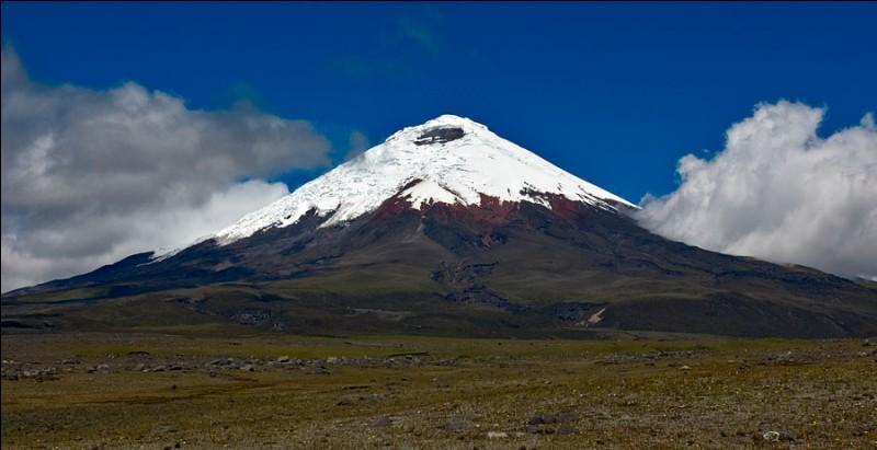 Quel volcan de la Cordillère des Andes, en Equateur, culmine à 5 897 mètres et est toujours en activité ?