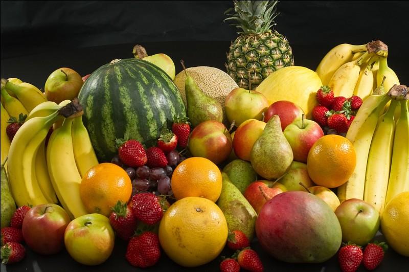 Quel fruit partagez-vous le mieux ?