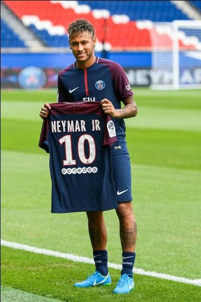 En quelle année est arrivé Neymar ?