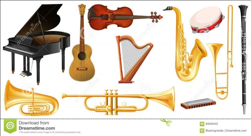 Quel instrument aimes-tu ?
