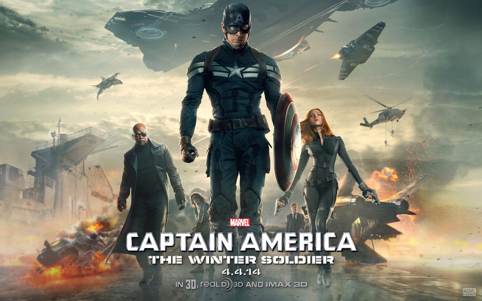 Captain America le soldat de l'hiver (1)