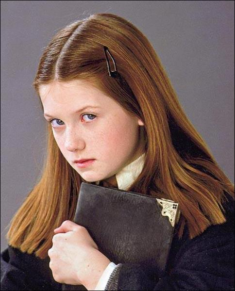 A quoi Ginny apparente-t-elle les yeux de Harry dans le message chanté qu'elle lui envoie pour la St Valentin ?