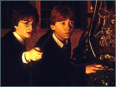 Combien de points Harry et Ron ont-ils fait gagner à Gryffondor ?