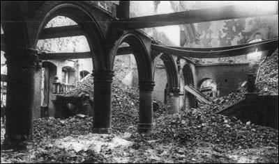 Dès 1914, l'occupation allemande des territoires envahis de France et de Belgique