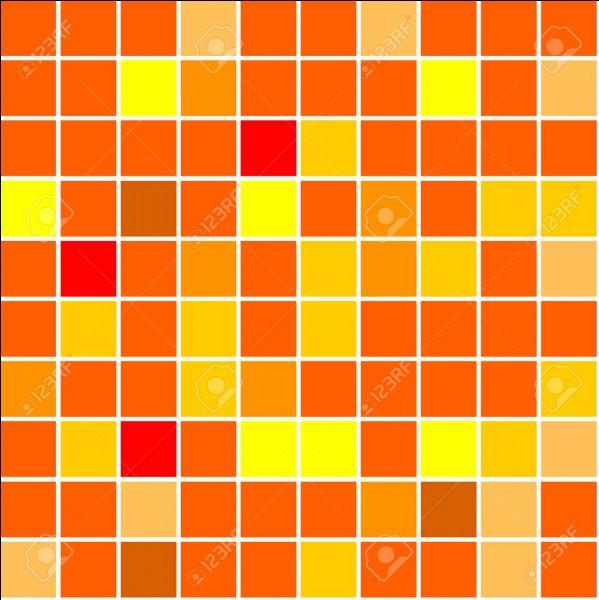 Quelle couleur n'est pas une variété d'orange ?