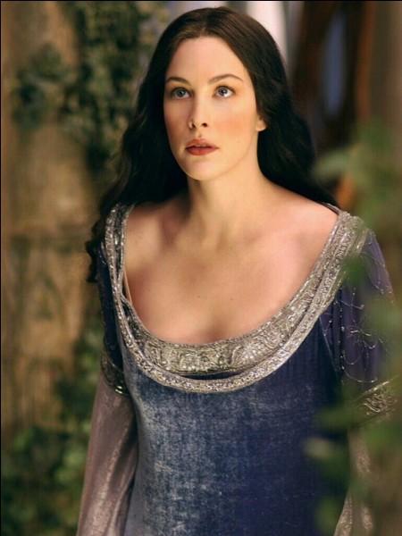 """Quel est le nom de l'actrice qui joue le rôle d'Arwen dans la trilogie """"Le Seigneur des anneaux"""" ?"""