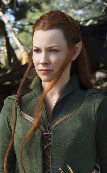 """Quel est le nom de l'actrice qui joue le rôle de Tauriel dans la trilogie """"Le Hobbit"""" ?"""