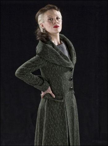 """Quel est le nom de l'actrice qui joue le rôle de Narcissa Black dans la saga """"Harry Potter"""" ?"""