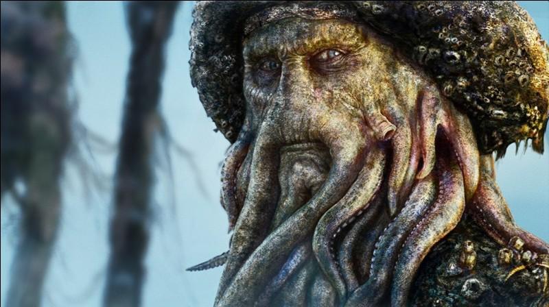 """Quel est le nom de l'acteur qui joue le rôle de Davy Jones dans la saga """"Pirates des Caraïbes"""" ?"""